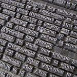 文字とタイポグラフィとレタリング